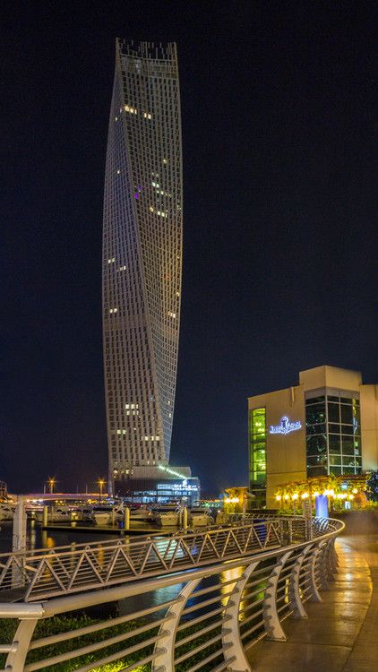 great-cityscapes:  Cayan Tower by adarshkr007