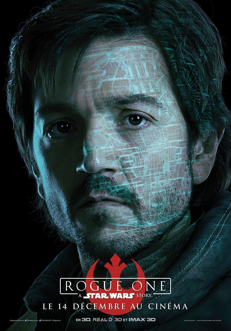 Les affiches des personnages de « Rogue One – A Star Wars Story ».   Disney-Planet