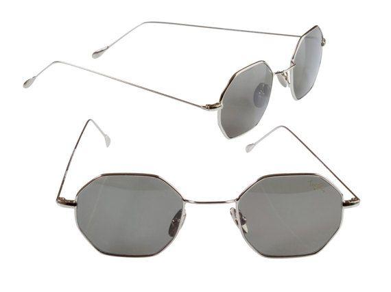 a40a19a0e5c8 Top Gun 80s hexagon sunglasses
