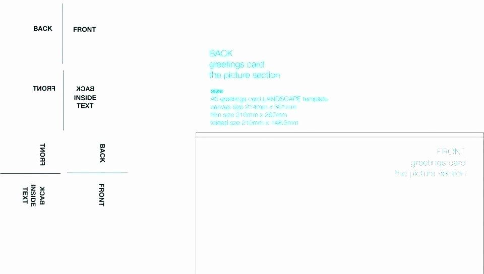 quarter fold card template word elegant 12 13 blank