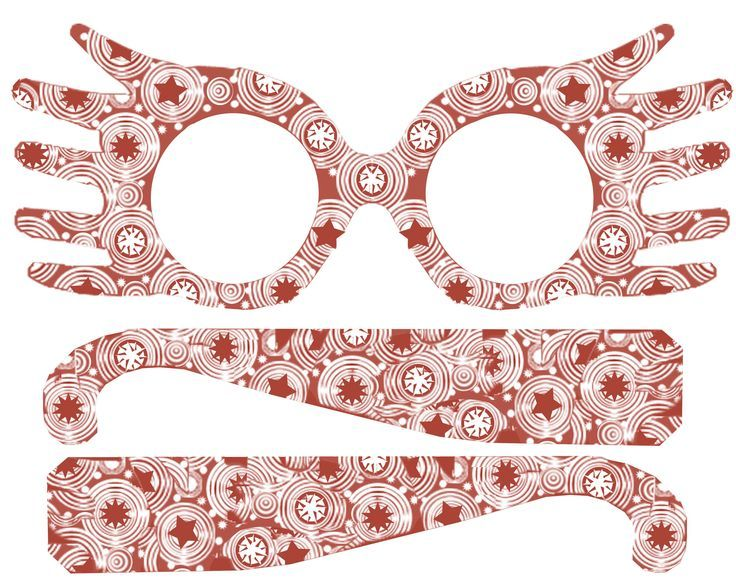 DIY Printable Luna Lovegood Spectrespecs Glasses