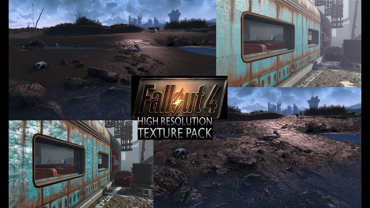 Fallout 4 Is Getting 4k Texture Packs High Fidelity Graphics Fallout 4 Texture Packs Texture Fallout