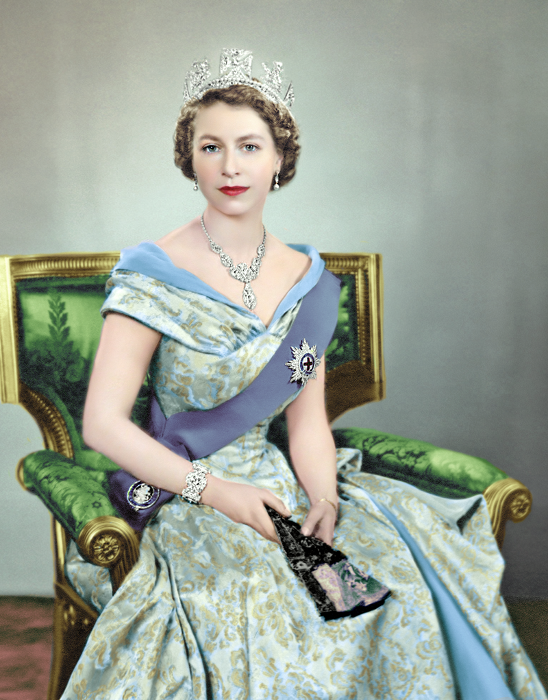 Pin By Barbara Joy On Royal Young Queen Elizabeth Queen Elizabeth Portrait Her Majesty The Queen