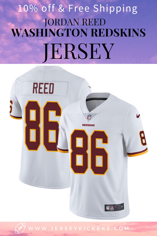 Men's WASHINGTON REDSKINS 86 Jordan Reed Stitched Jersey