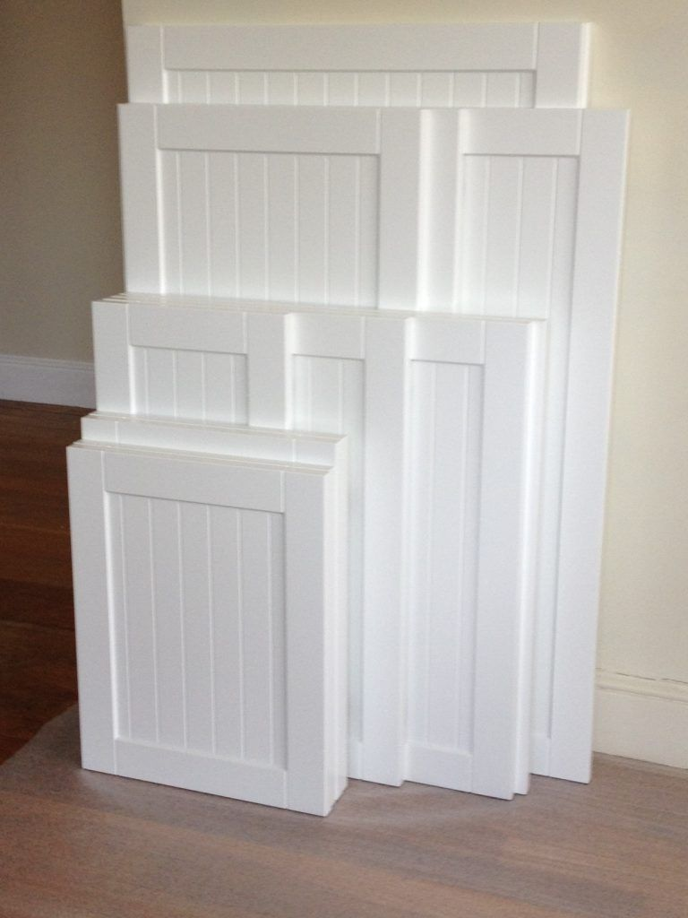 Kitchen Cabinet Refacing The Process White