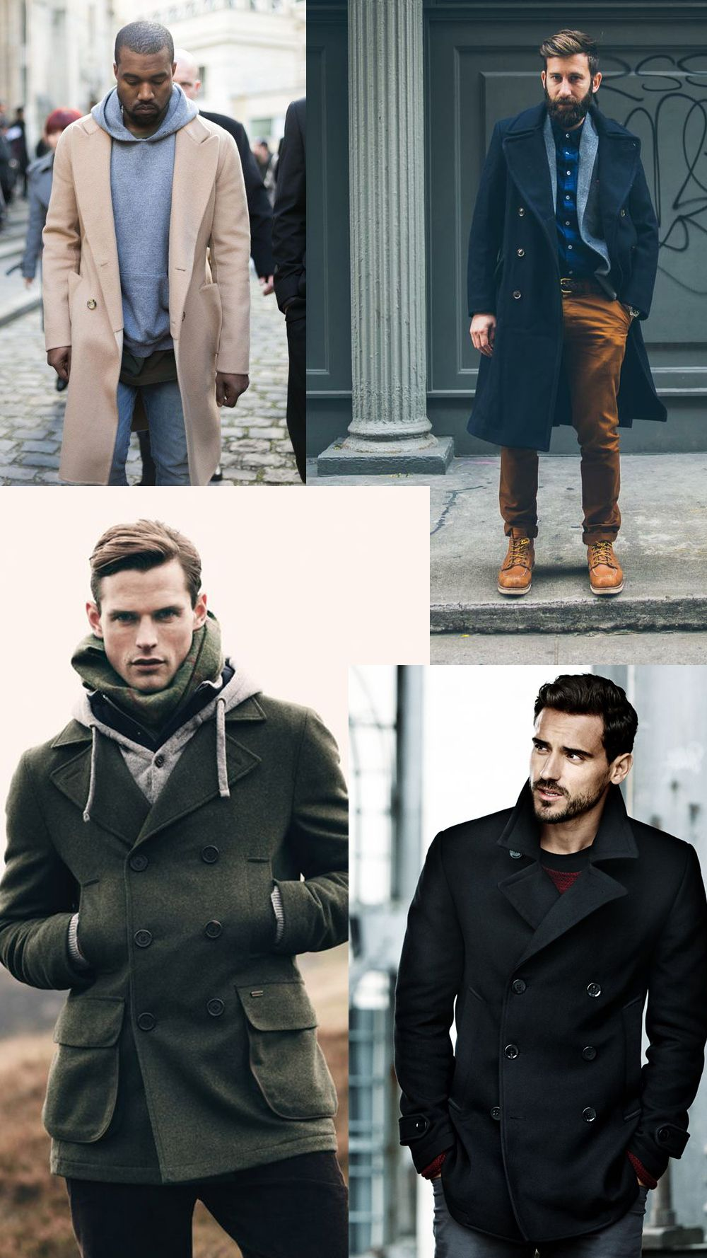 Men's Winter Fashion: 9 Cold Weather Essentials | Men coat ...