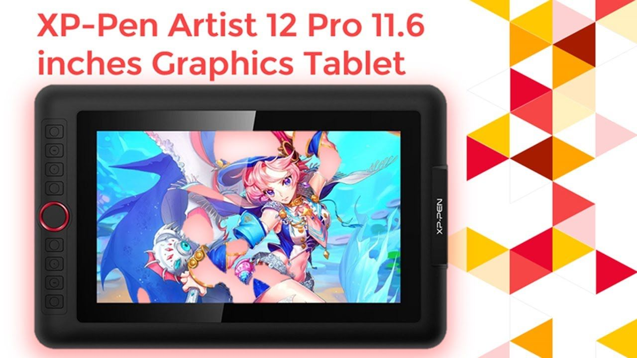 Graphics Tablet Drawing Monitor Xp Pen Artist 12 Pro 11 6 Inches Graph In 2020 Graphics Tablet Tablet Graphic