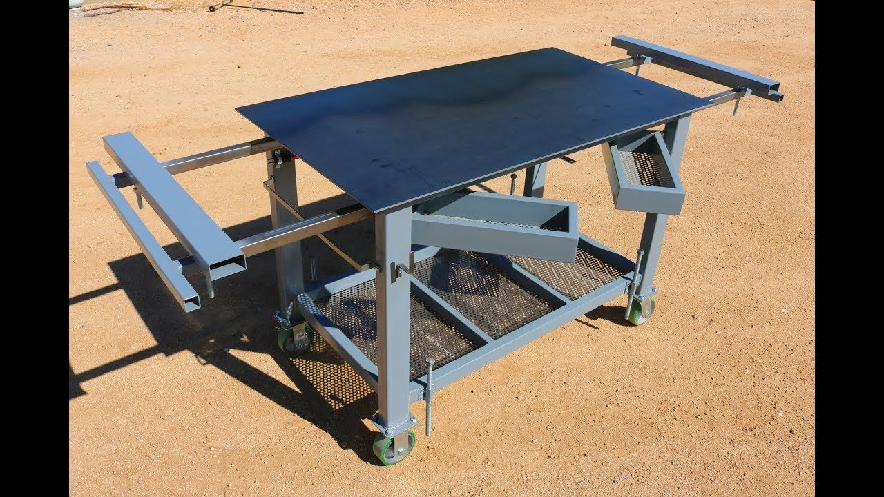 Welding table workbench build how to welding table