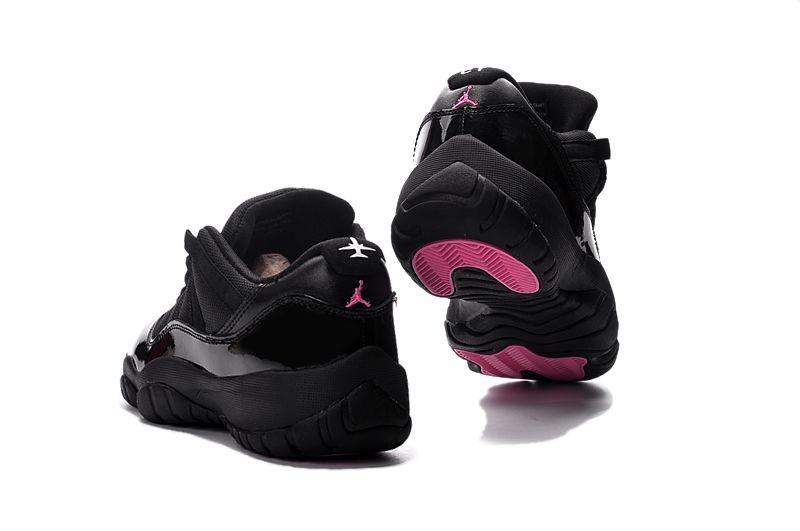 Air Jordan 11 Retro Low Black Pink Men