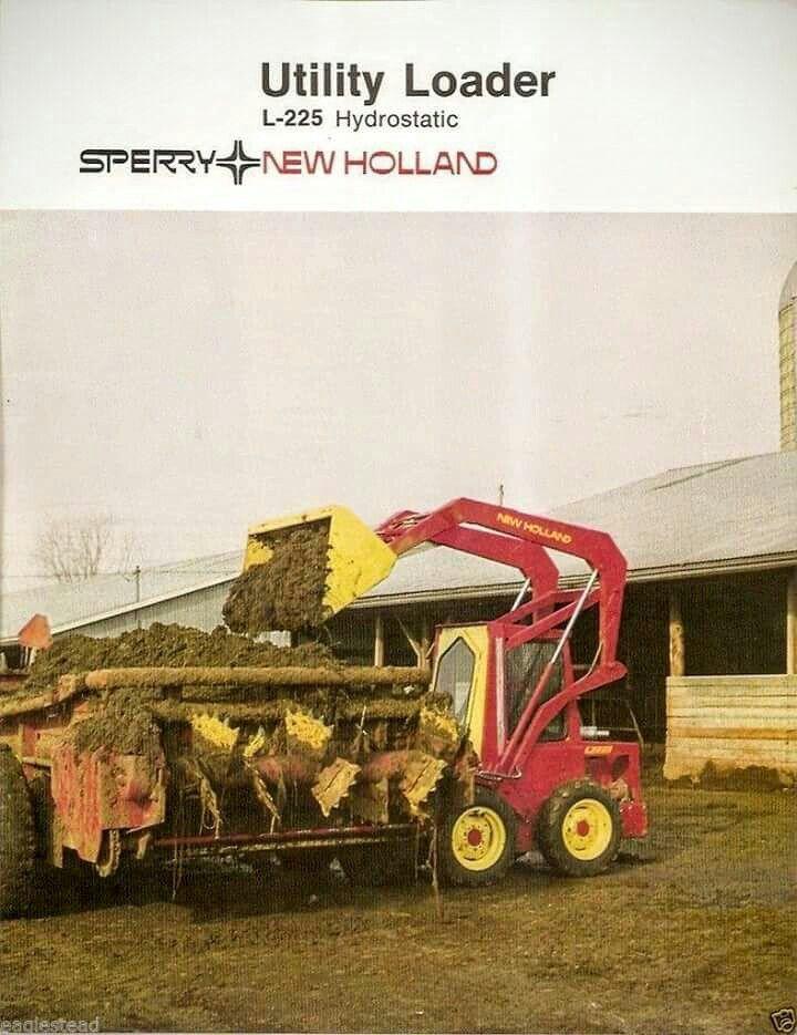 Sperry New Holland L 225 Hydrostatic Utility Loader Ad New Holland Tractor New Holland Agriculture New Holland