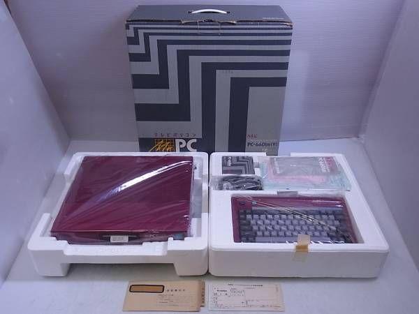 NEC PC-6601SR本体+キーボード 箱説付 日本電気/3F371/2_画像1