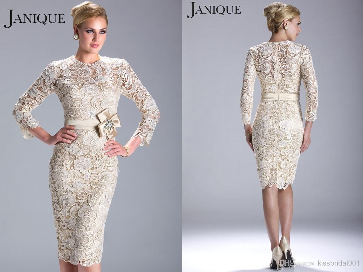 Discount modest lace formal mother of the brides dresses satin