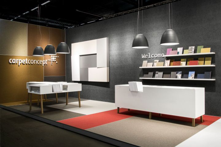 Exhibition Stand Carpet : Carpet concept stand at stockholm furniture fair by
