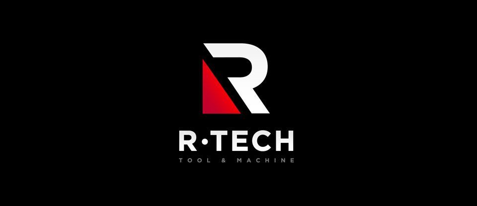 Logo Design For R Tech Tool Machine R Logo Pinterest