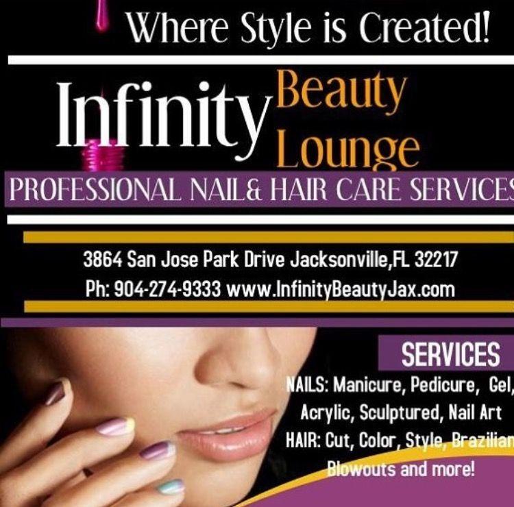 Infinity Beauty Lounge Jax 904 274 9333 Nails Hair Makeup Salon