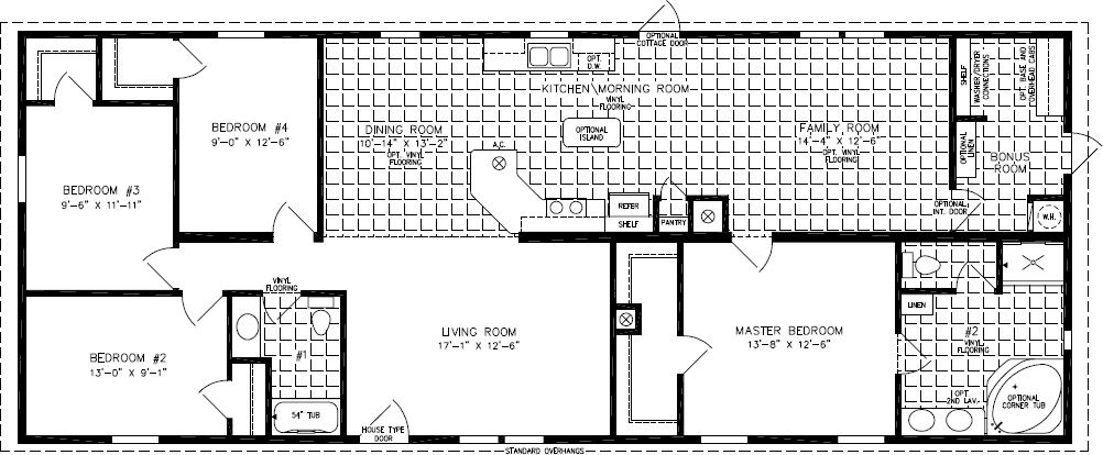 Floorplans For Manufactured Homes 1800 To 1999 Square Feet Manufactured Homes Floor Plans Modern Floor Plans Mobile Home Floor Plans