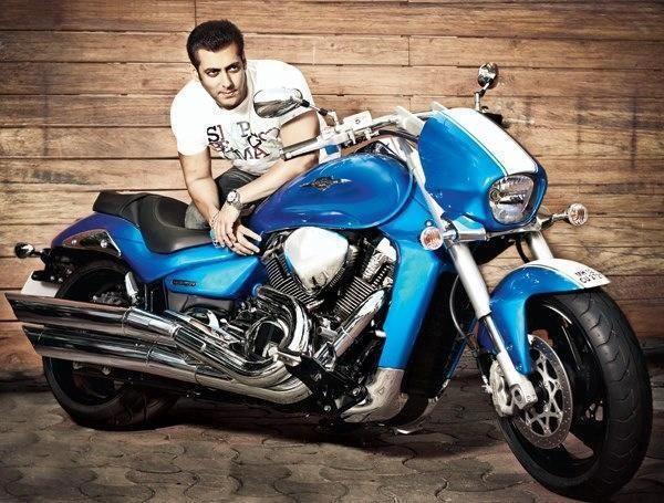 Salman Khan On Bike Wallpapers Salman Khan Salman Khan