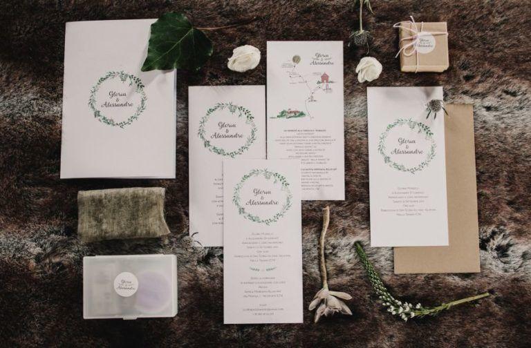 Partecipazioni Matrimonio Wedding Planner.Un Matrimonio Botanico In Vigna Matrimonio Botanico Cartoleria