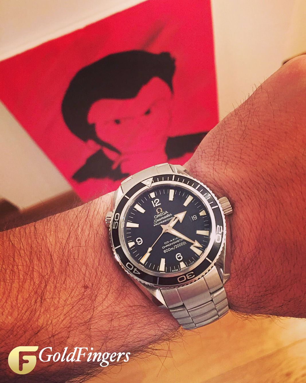 Hello Lupin!!! Omega Seamaster Planet Ocean Co-Axial 600m.