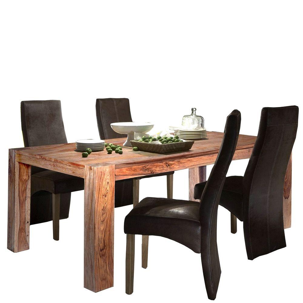 Sit Thor Tischruppe Esstisch 4 Stuhle Sheesham Holz Jetzt Bestellen Unter Https Moebel Ladendirekt De Kueche Und Esszimmer Gunstige Mobel Tischgruppe Stuhle