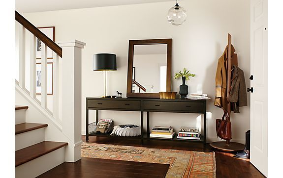 Foyer Console Furniture : Foyer console table and chairs entry