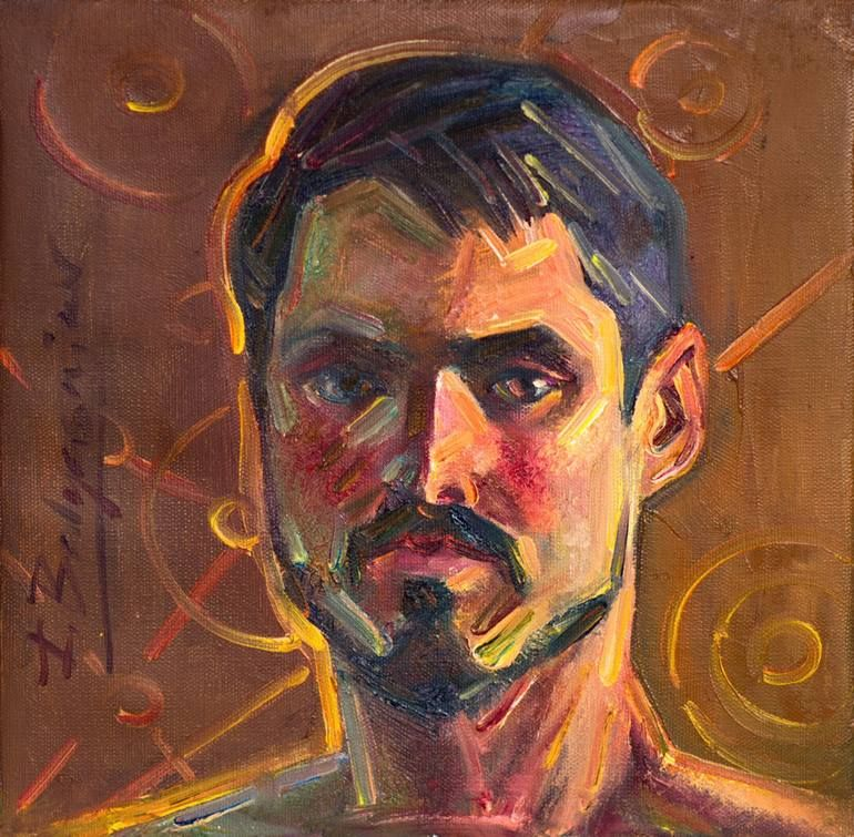 Saatchi Art Artist Ivan Balyasnikov Painting Self Portrait Of The Seeker Art Ivanbalyasnikov Artist Painter Art Painting Selfpor Artist Art Painting