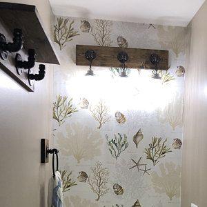 Photo of ESPRESSO Industrial Modern Rustic Bathroom set of 3 Towel Holder/Toilet Paper Holder/Hook/Hanger/Rack/Pipe Bathroom/Workshop/Office