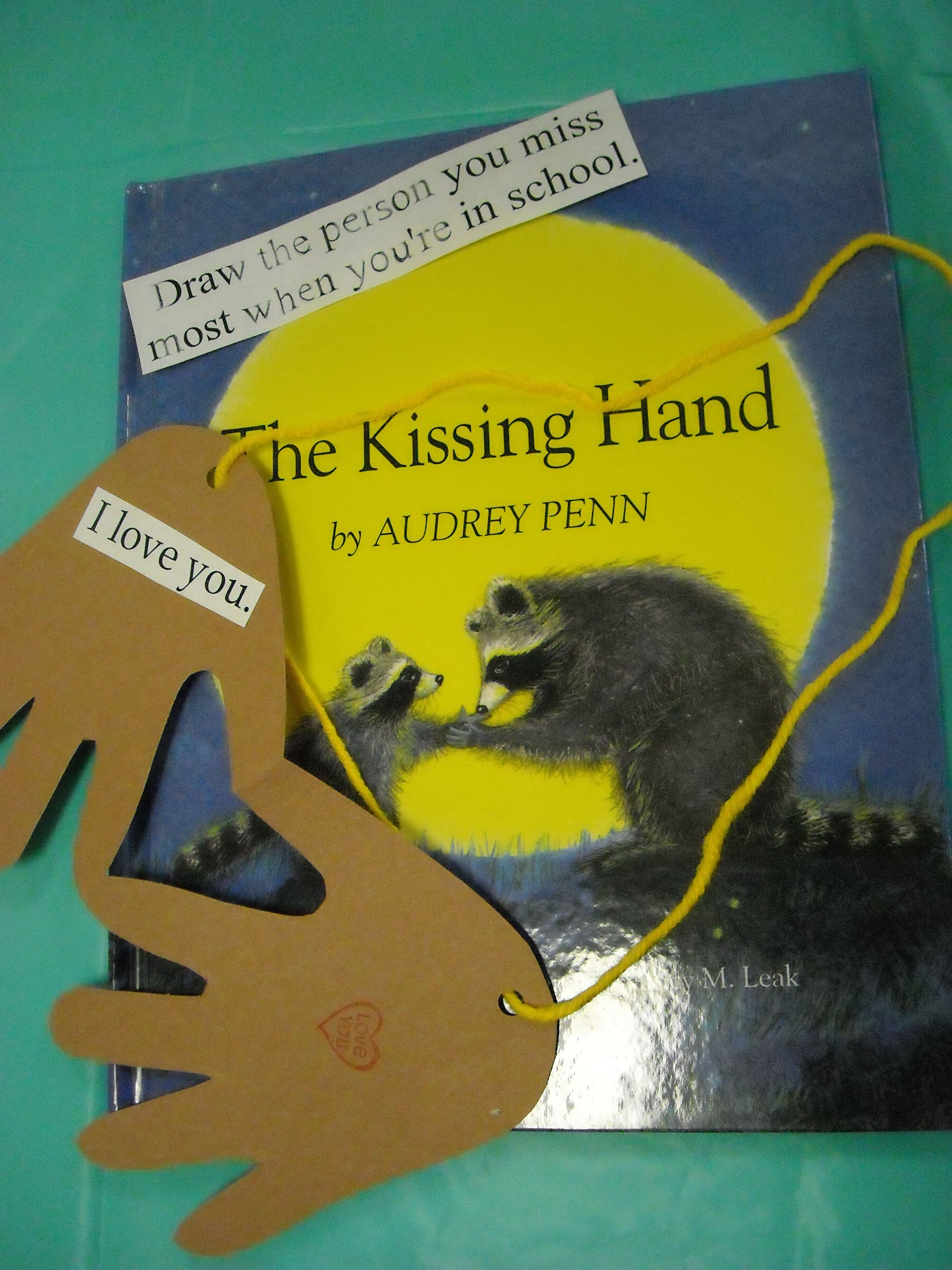The Kissing Hand Necklace Great Activity For Kindergarten