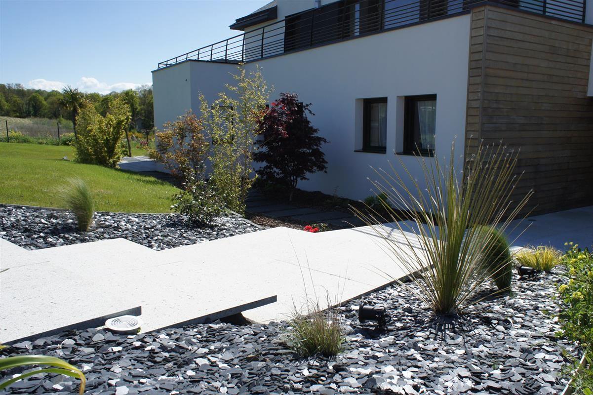 Beau Jardin Et Piscine   Réalisations Paysagiste Rennes   Architecte Paysagiste  Rennes   Paysagiste Conseil Rennes |