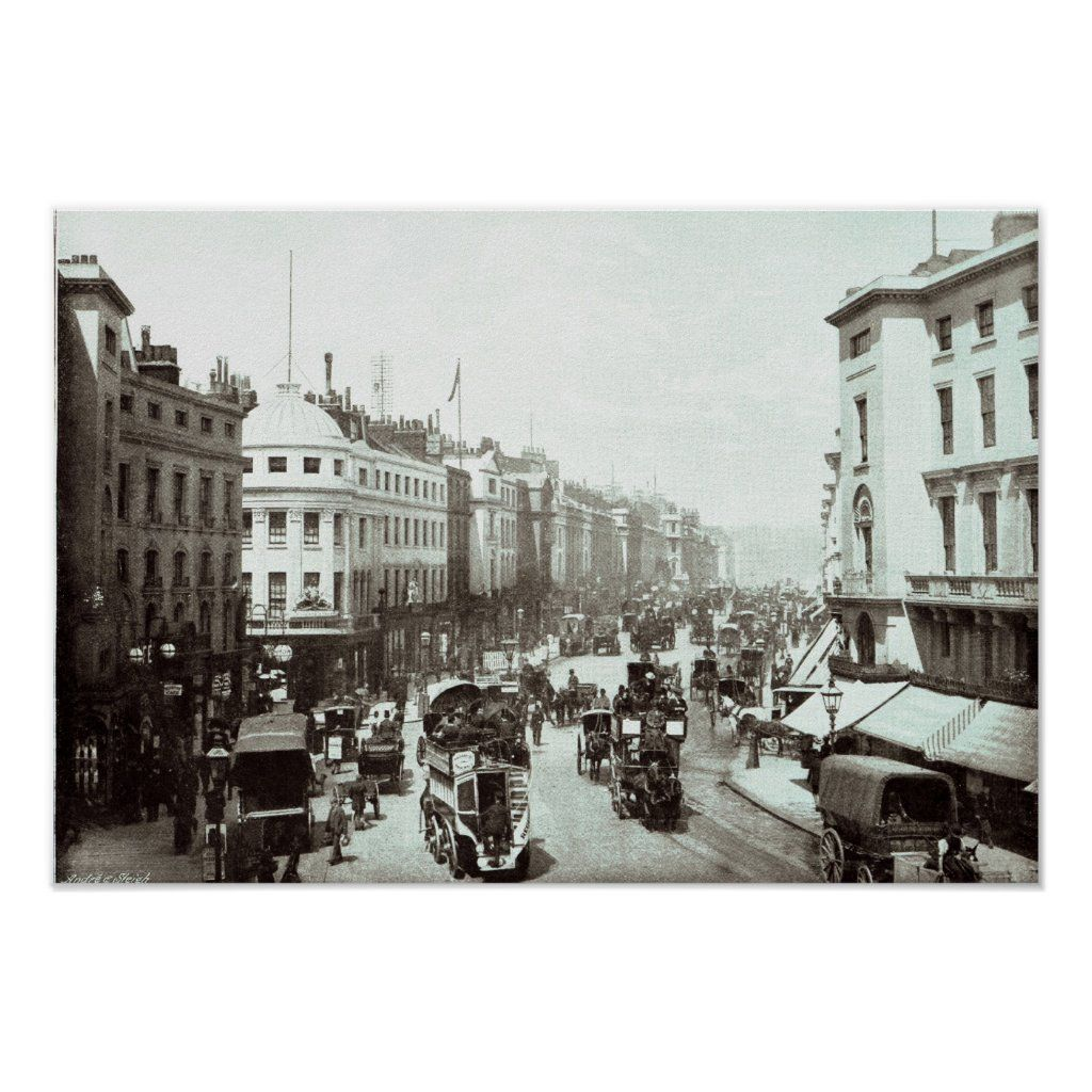 English Photographer's Regent Street, London c.1900 located at a Private Collection. The Regent Street, London c.1900 was created around the 20th century.
