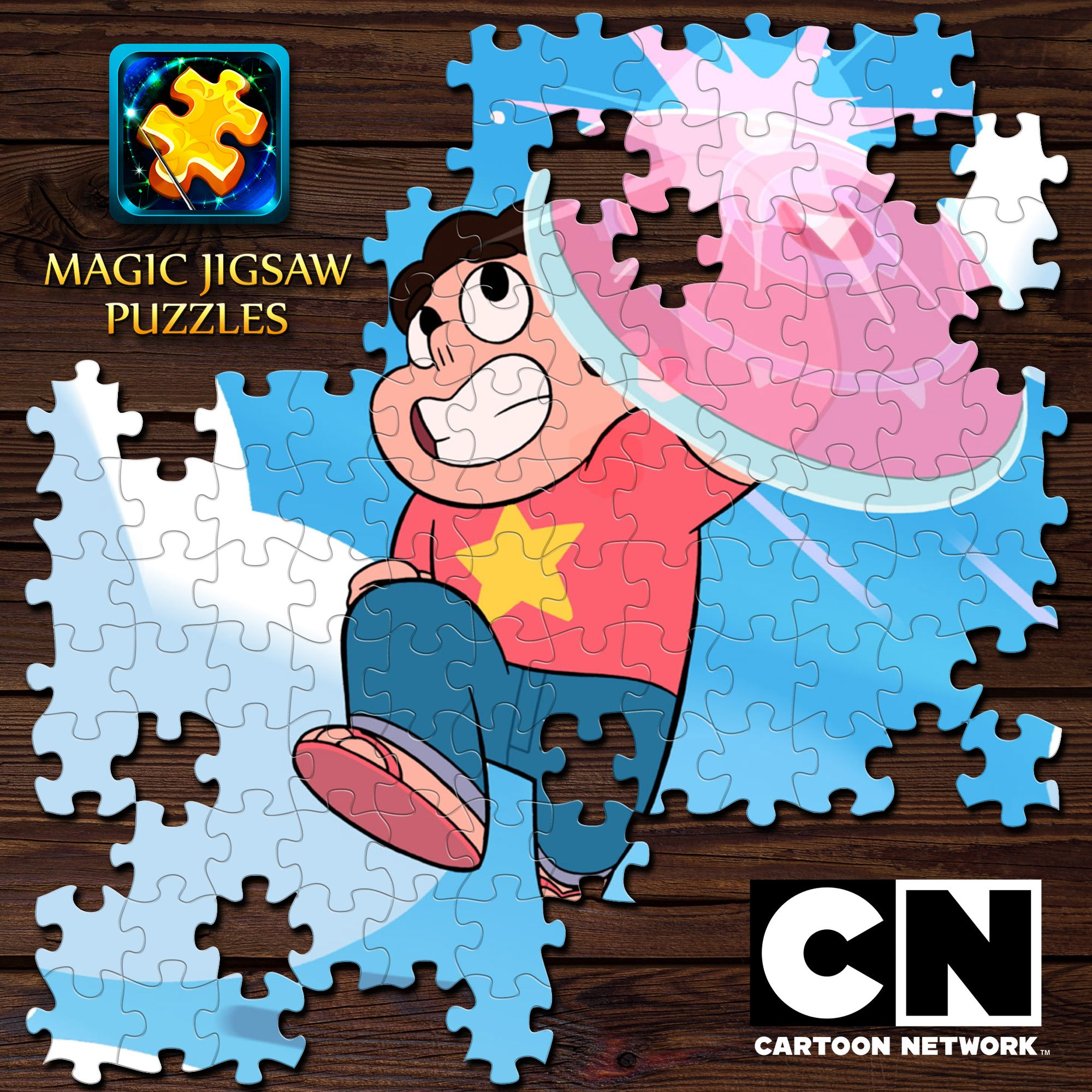 New Steven Universe Сartoon Network puzzles are waiting