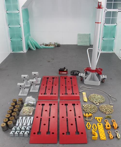 Floor Straightening System D200 Proyectos