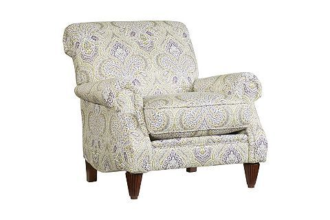 Madeline Accent Chair | Havertys / 'Heather' fabric - LOVE - lovely in person