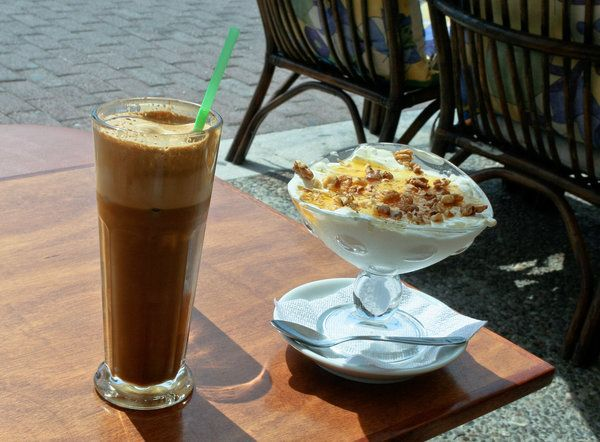 Here's How The Rest Of The World Drinks Coffee...Greece 'Frappe'