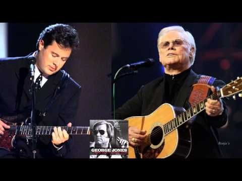 George Jones Selfishness In Man With Vince Gill Youtube