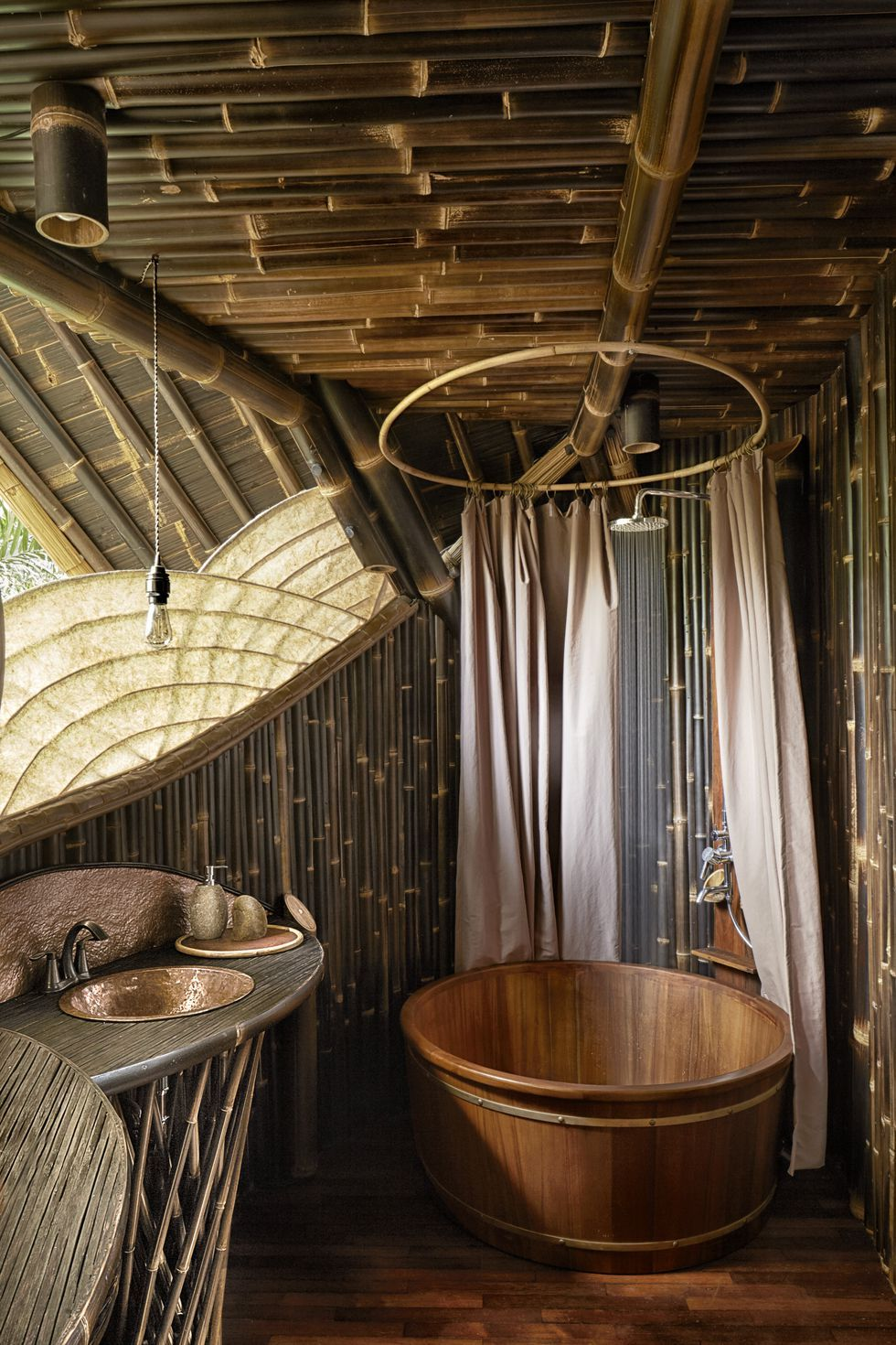 Inside A Breathtaking Bamboo Villa In The Heart Of The Indonesian