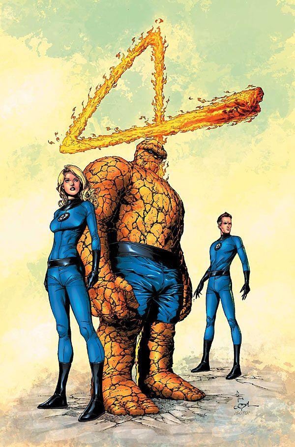 Fantastic Four - Gary Frank   Fantastic Four   Pinterest