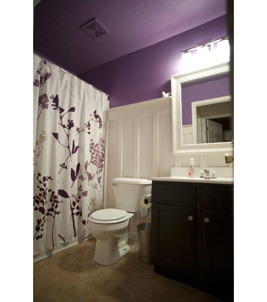 Bathroom Pretty Bathroom Colors Guest Bathroom Colors Purple And Brown Bathroom Bathroom: Violet Bathroom Colors - Home And Garden Design Ideas