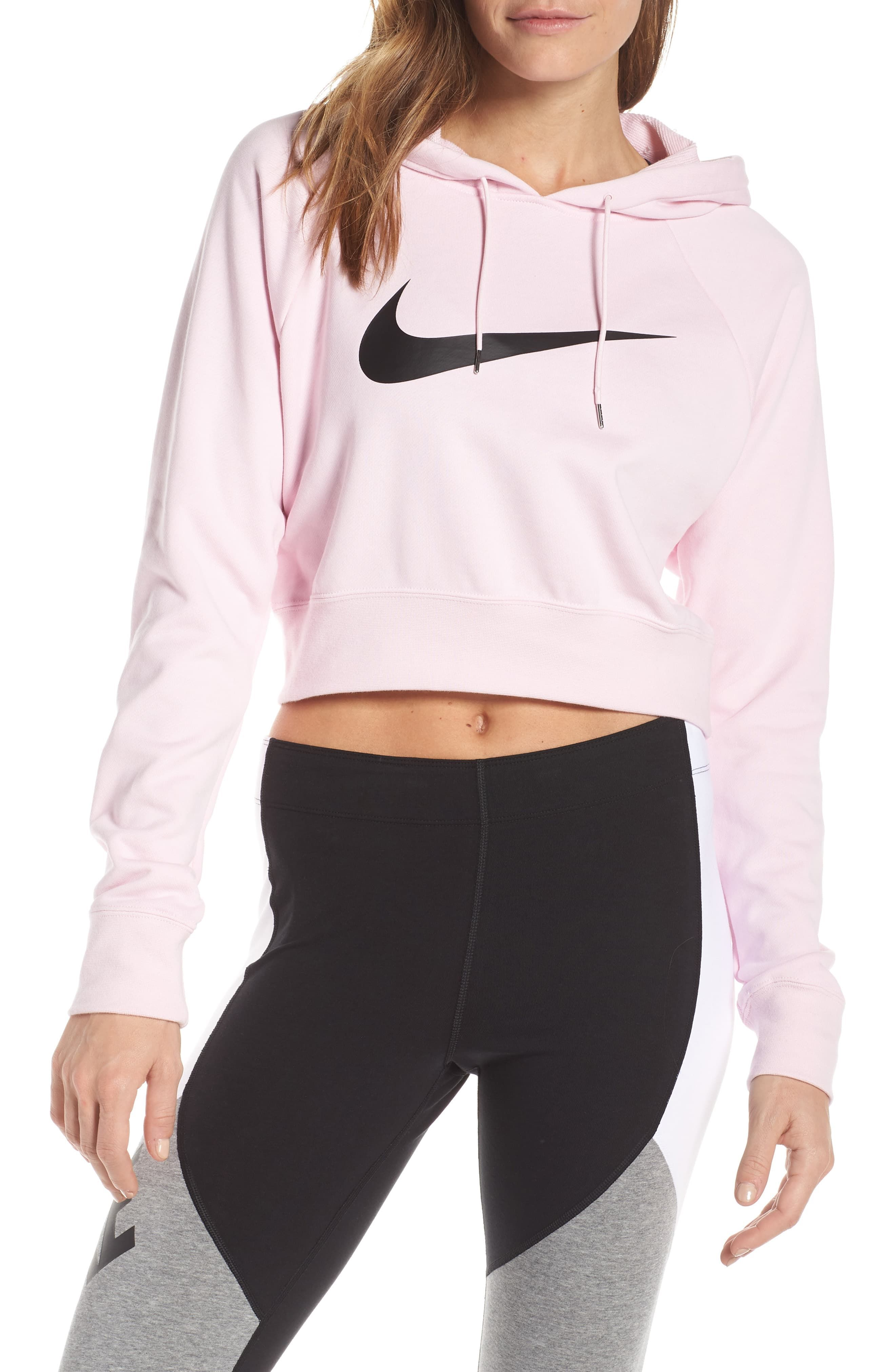 Nike Sportswear Women S Crop Hoodie Available At Nordstrom Nike Sportswear Women Nike Outfits Nike Cropped Hoodie [ 4048 x 2640 Pixel ]