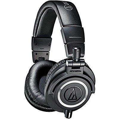 Amazon.com: Audio-Technica ATH-M50X Professional Studio Headphones (Black)(Certified Refurbished): Electronics