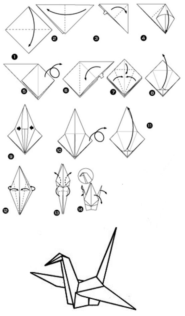 Оригами по картинкам с схемой