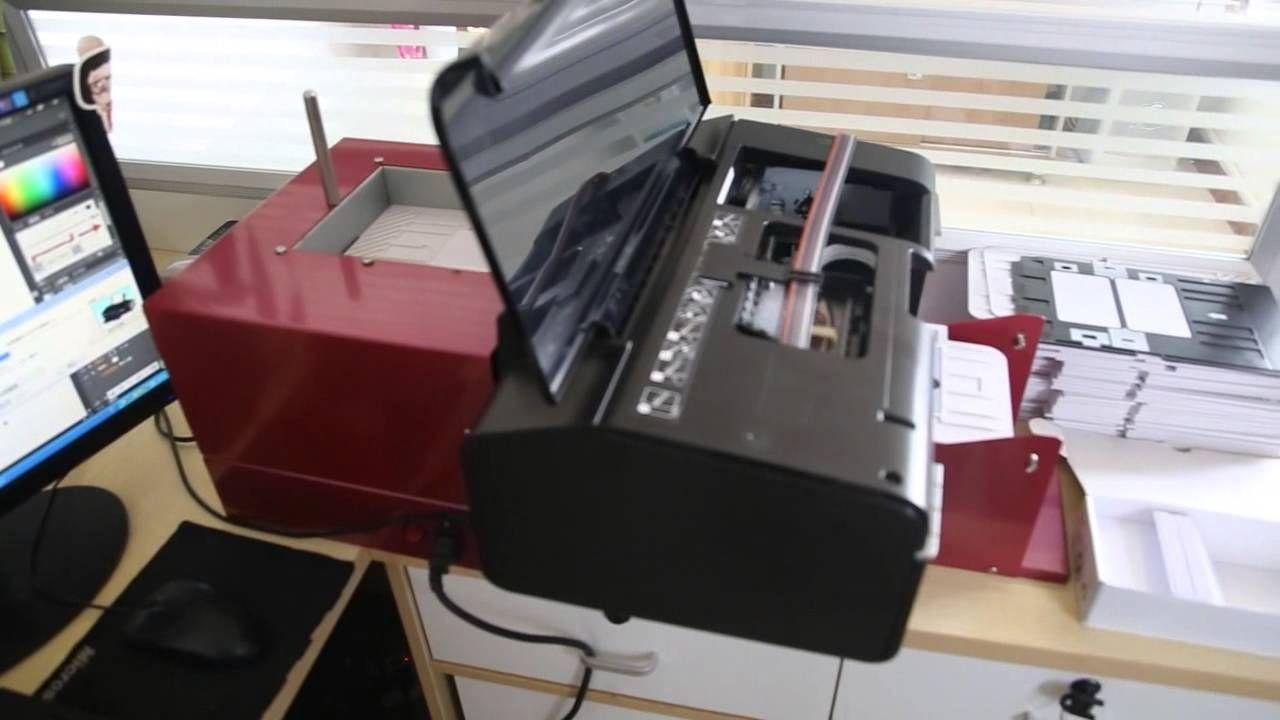 Automatic Inkjet Printer For Blank Inket Pvc Card Card Printer Inkjet Printer