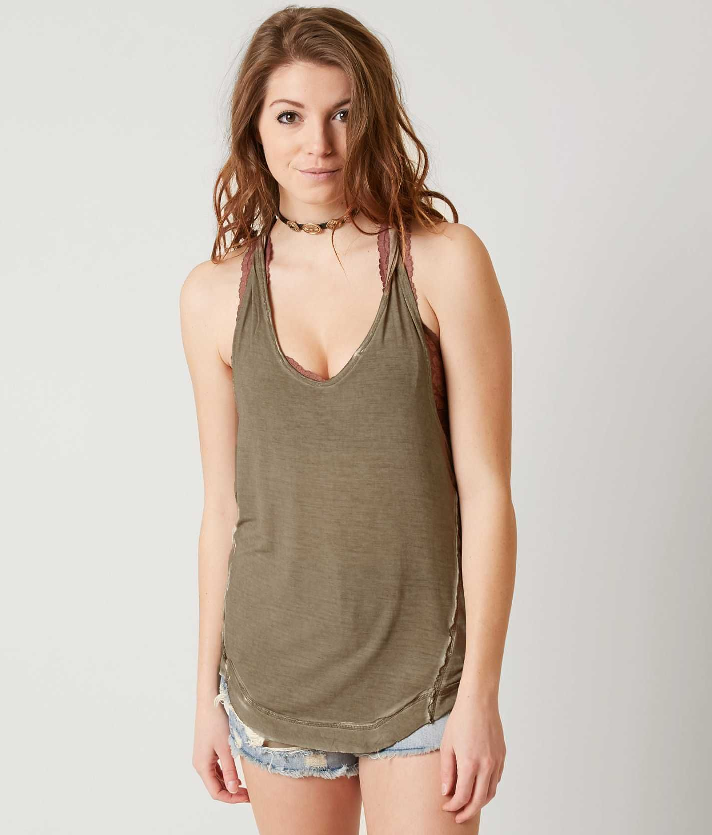 619c73bd55f783 Free People Nectarine Tank Top - Women s Tank Tops in Rosemary ...