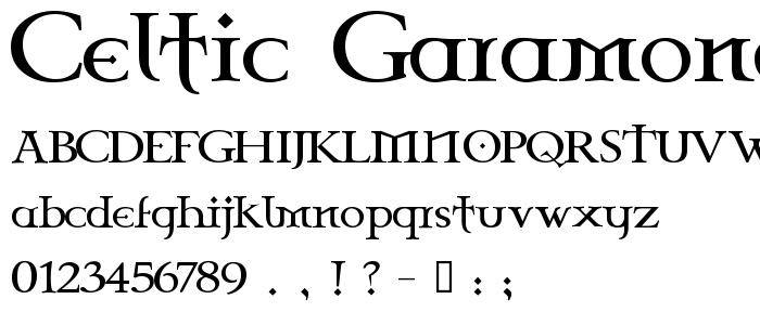 celtic garamond the 2nd