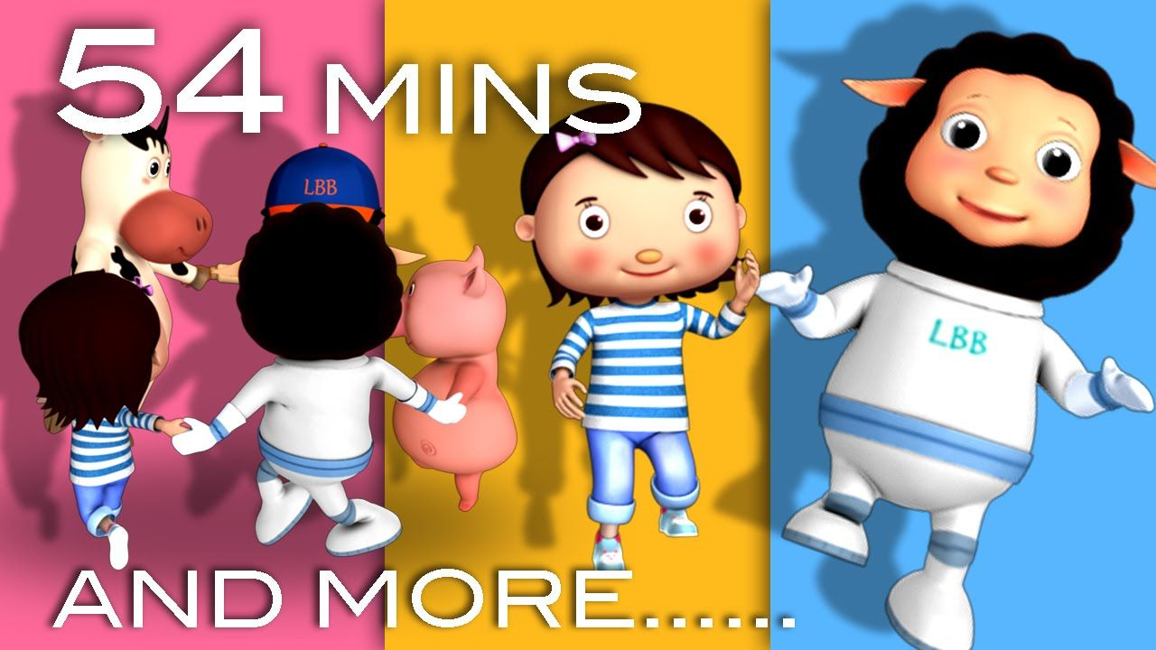 Ring Around The Rosy And More 54 Minutes Of Nursery Rhymes From Littlebabybum Rhymes For Babies Baby Songs Nursery Rhymes
