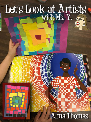 Photo of Lesson Plans for kids k-12 Black History Month Alma Thomas — Art with Ms. Y.