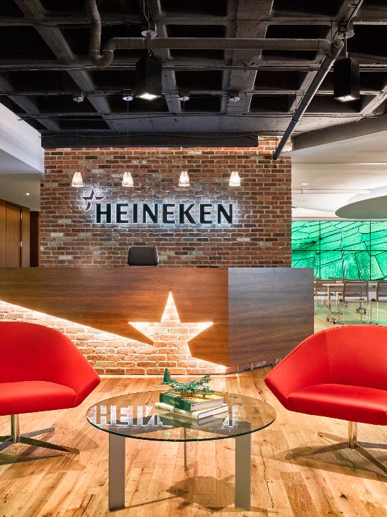 Strong Brew: Heineken HQ Spurs Innovation Through Interaction [slideshow] | Building  Design +