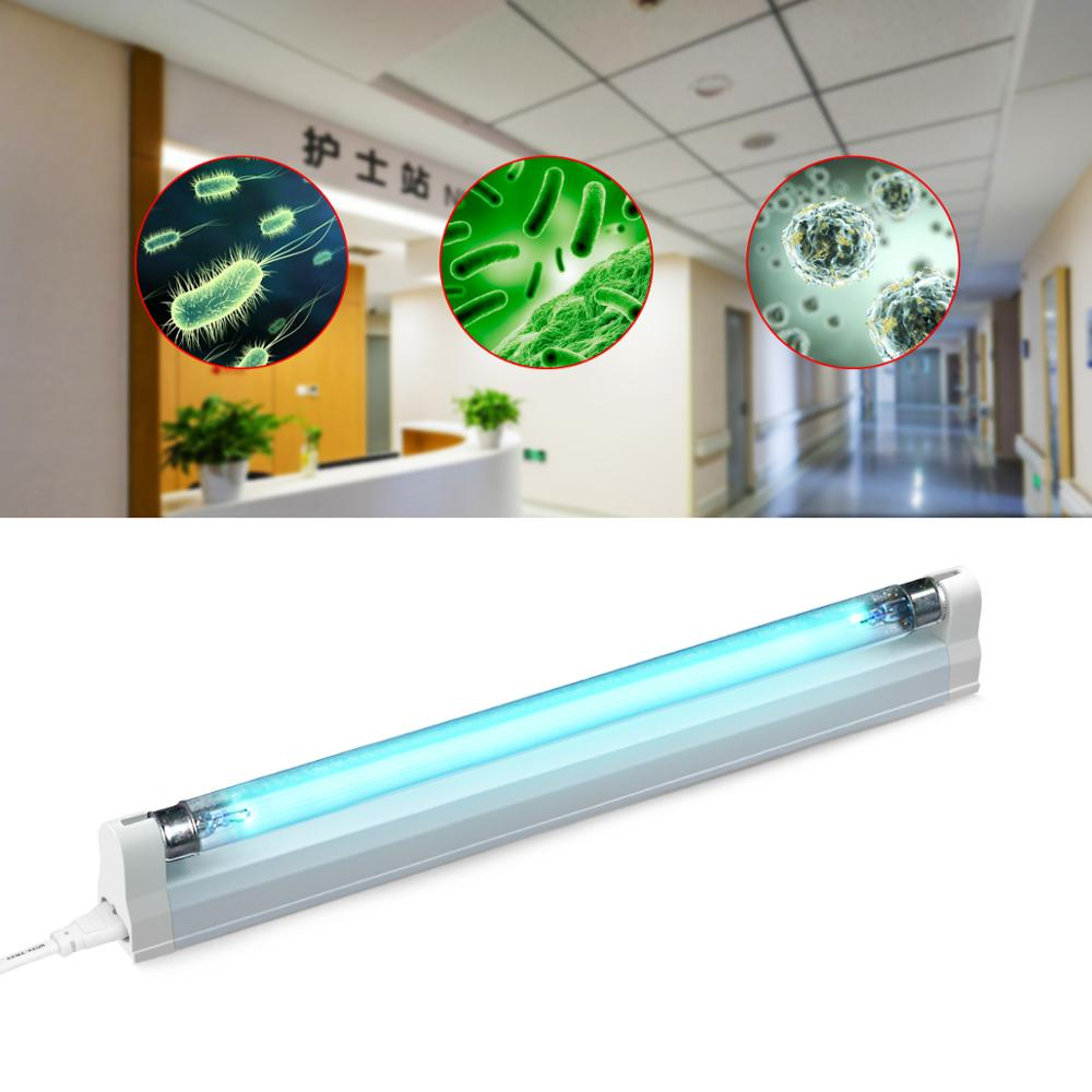 110220V Ultraviolet lamp 6W 8W UV Quartz lamp T5 Tube UVC