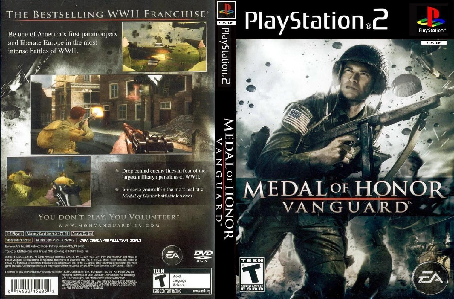 A Excellent Game Medal Of Honor Intense Paratrooper
