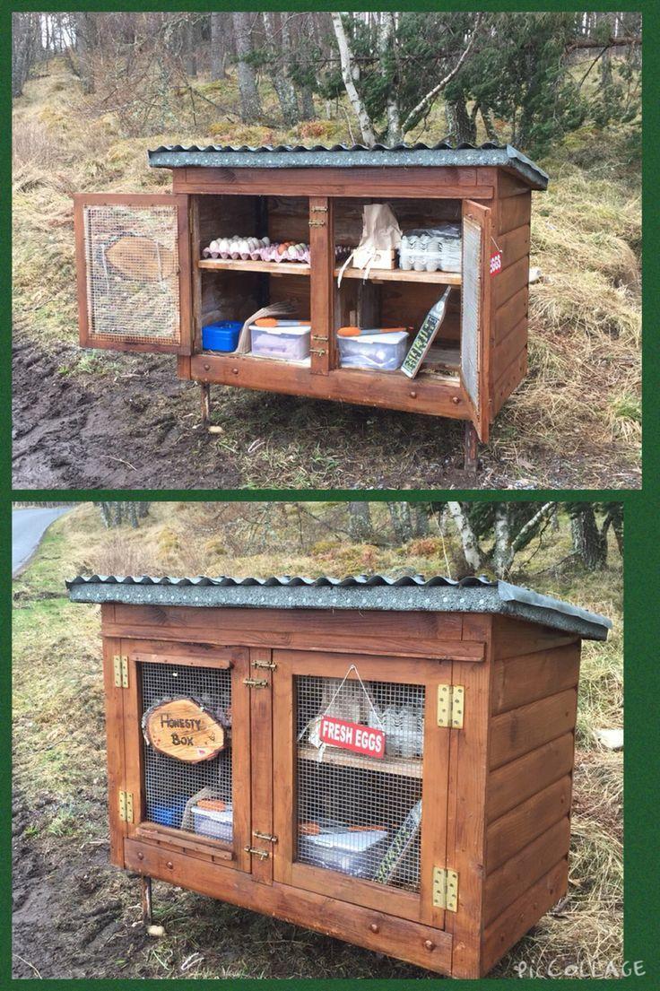 My Honesty Box. Fresh Eggs & Home Baking. Chickens